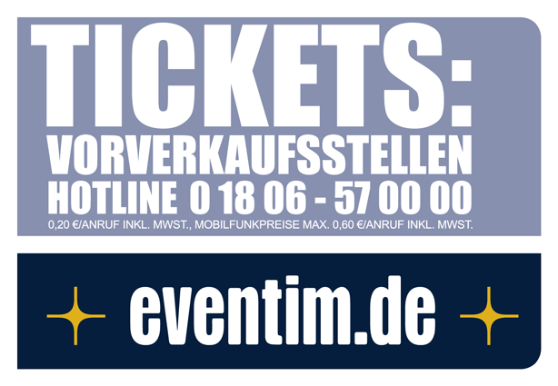 Eventim analog Ticket Vorverkauf Hotline 01806570000