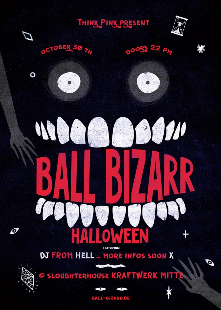 Ball Bizarr 2017 Halloween Party in Dresden