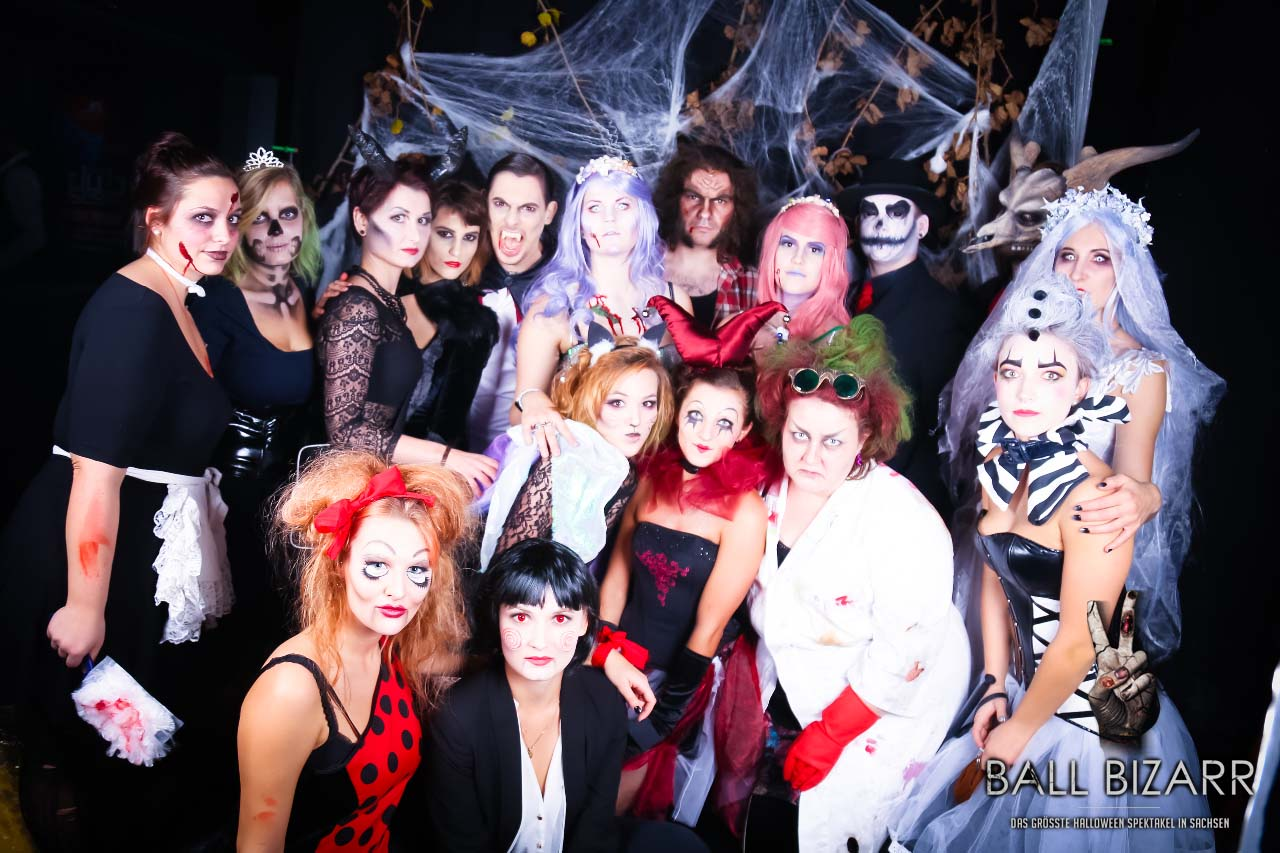 Ball Bizarr 2014 Fotoshooting zur Halloween Party