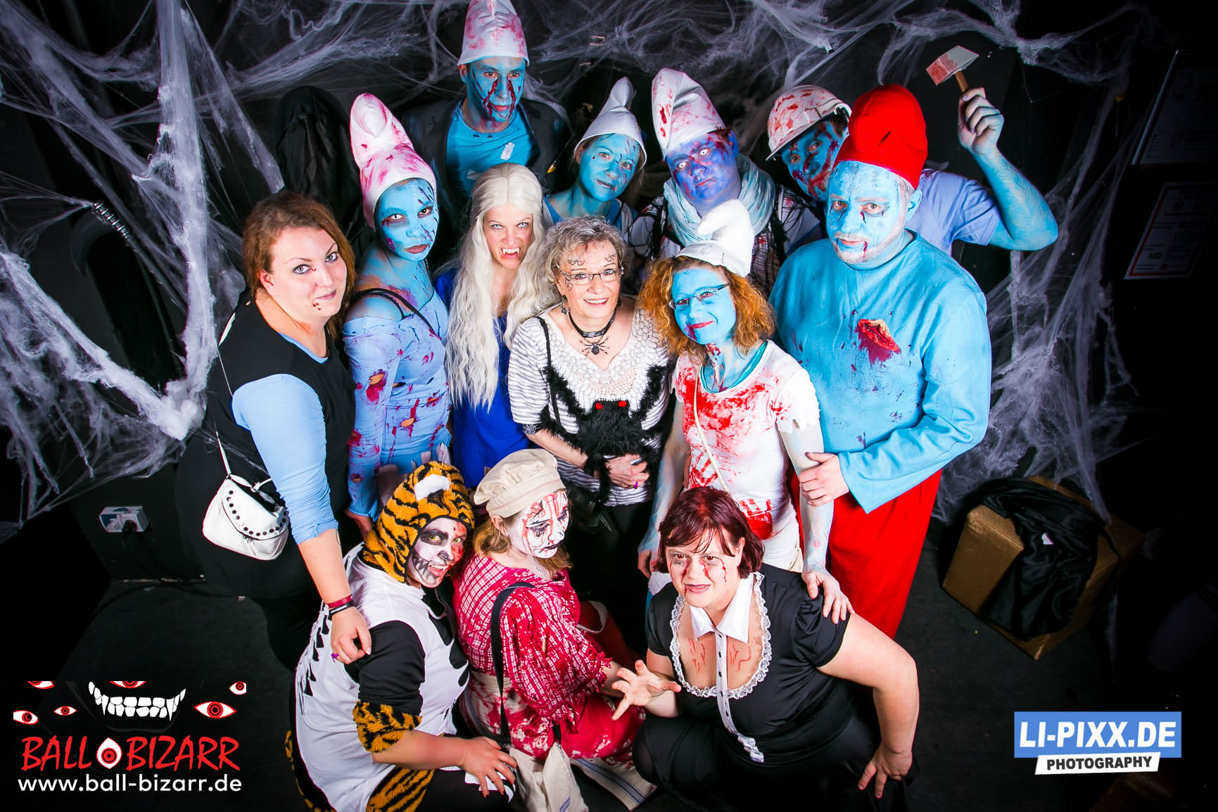Halloween in Dresden mit Ball Bizarr